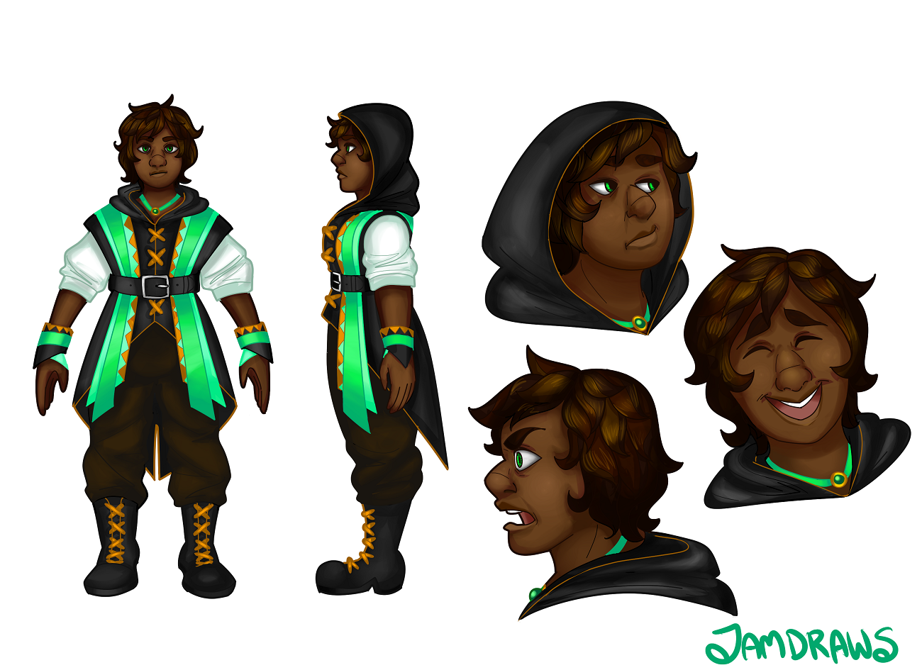 Character Design - July 28, 2015